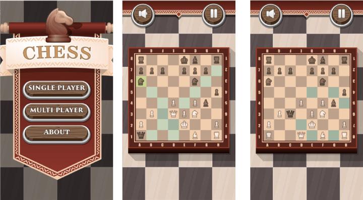 Chess - HTML5 Game (Phaser 3) - 1